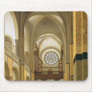 Interior of the Marienkirche in Utrecht 1638 Mouse Pad