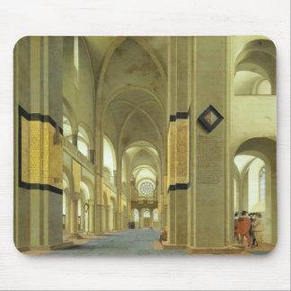 Interior of the Marienkirche in Utrecht 1638 Mousepads