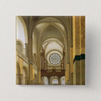 Interior of the Marienkirche in Utrecht, 1638 Pinback Button