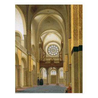 Interior of the Marienkirche in Utrecht 1638 Post Card