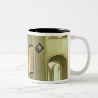 Interior of the Marienkirche in Utrecht, 1638 Two-Tone Coffee Mug