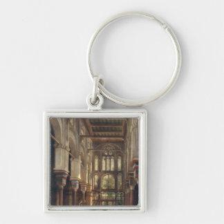Interior of the Mosque of El Mooristan in Cairo Keychains