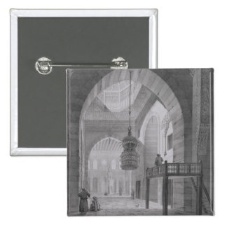 Interior of the Mosque of Kaid-Bey, plate 55 from Button