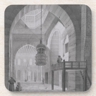 Interior of the Mosque of Kaid-Bey, plate 55 from Coaster