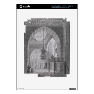 Interior of the Mosque of Kaid-Bey, plate 55 from Decal For iPad 3