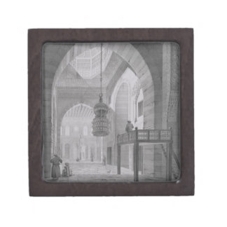 Interior of the Mosque of Kaid-Bey, plate 55 from Gift Box