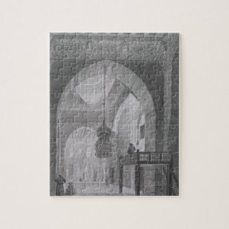 Interior of the Mosque of Kaid-Bey, plate 55 from Jigsaw Puzzle
