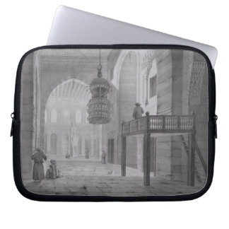 Interior of the Mosque of Kaid-Bey, plate 55 from Laptop Sleeve