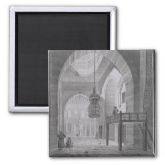 Interior of the Mosque of Kaid-Bey, plate 55 from Magnet