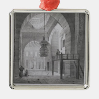 Interior of the Mosque of Kaid-Bey, plate 55 from Metal Ornament