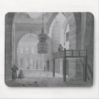 Interior of the Mosque of Kaid-Bey, plate 55 from Mouse Pad