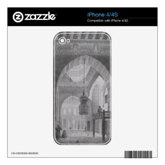 Interior of the Mosque of Kaid-Bey, plate 55 from Skins For iPhone 4