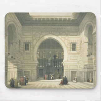 Interior of the Mosque of Sultan Hasan, Cairo, fro Mouse Pad