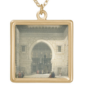 Interior of the Mosque of Sultan Hasan, Cairo, fro Necklaces