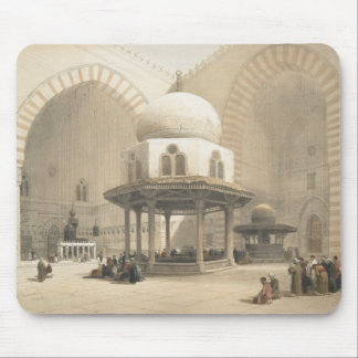 Interior of the Mosque of the Sultan El Ghoree, Ca Mouse Pad