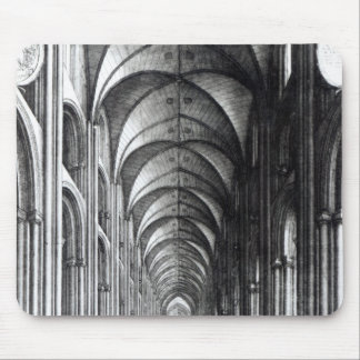 Interior of the Nave of St. Paul's, 1658 Mouse Pad