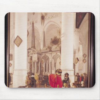 Interior of the Nieuwe Kerk, Delft, 1656 Mouse Pad