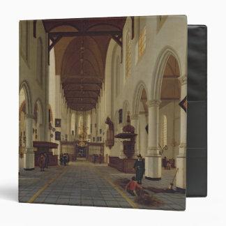 Interior of the Oude Kerk, Delft, c.1660-70 3 Ring Binders