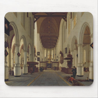 Interior of the Oude Kerk, Delft, c.1660-70 Mouse Pad
