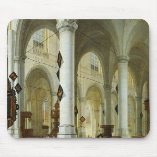 Interior of the Oude Kerk in Delft Mouse Pad