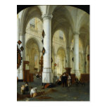 Interior of the Oude Kerk in Delft Postcards