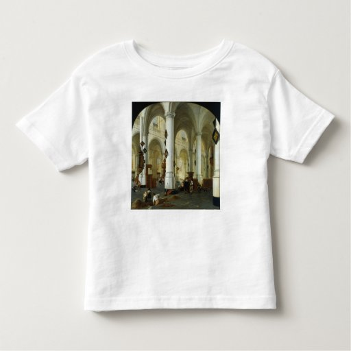Interior of the Oude Kerk in Delft T Shirt