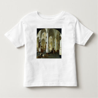 Interior of the Oude Kerk in Delft Toddler T-shirt