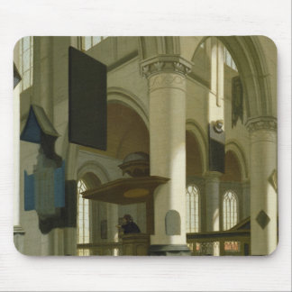 Interior of the Oude Kerk Mouse Pad