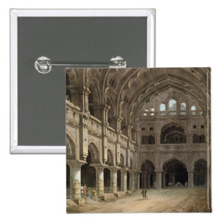 Interior of the Palace, Madura, plate XV from 'Ori Pinback Button