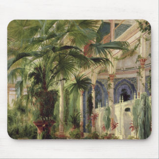 Interior of the Palm House at Potsdam, 1833 Mouse Pad