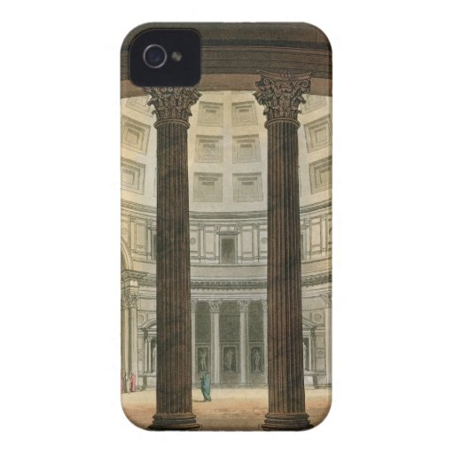 Interior of the Pantheon, Rome, from 'Le Costume A iPhone 4 Case