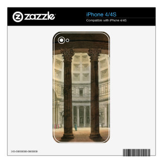Interior of the Pantheon, Rome, from 'Le Costume A Decal For The iPhone 4