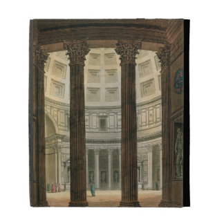 Interior of the Pantheon, Rome, from 'Le Costume A iPad Folio Case