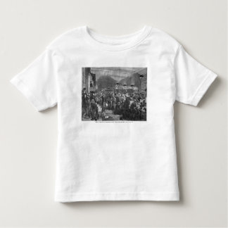 Interior of the Paris post office Toddler T-shirt