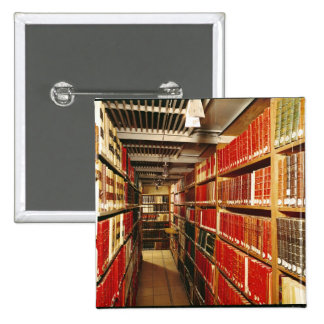 Interior of the printed material store 2 inch square button