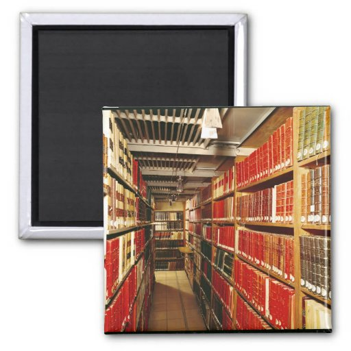 Interior of the printed material store 2 inch square magnet