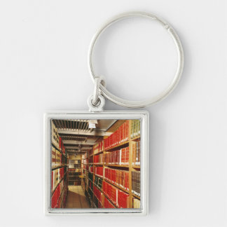 Interior of the printed material store keychain