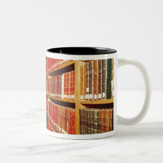 Interior of the printed material store Two-Tone coffee mug