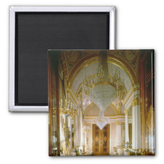 Interior of the Private Apartments 2 Inch Square Magnet
