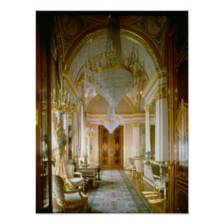 Interior of the Private Apartments Poster