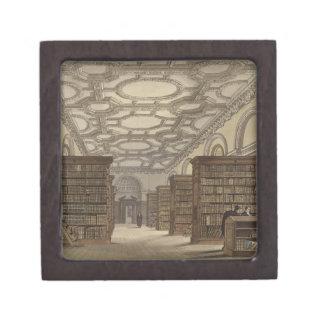 Interior of the Public Library, Cambridge, from 'T Keepsake Box