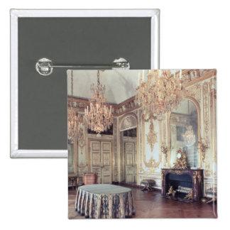 Interior of the Salle du Conseil  1701-55 Pinback Button
