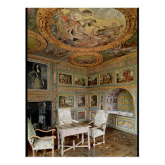 Interior of the 'Salle Louis XIV' Post Card