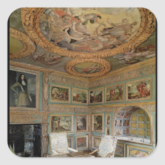 Interior of the 'Salle Louis XIV' Square Sticker