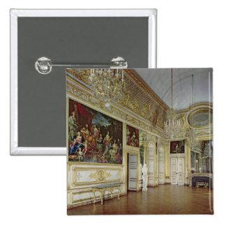 Interior of the Salon de l'Oeil de Boeuf Pinback Button