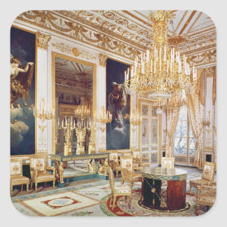 Interior of the Salon des Quatre Saisons Square Sticker