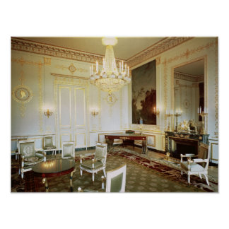 Interior of the Salon Vert Poster