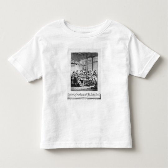 Interior of the Small Post Office in Paris Toddler T-shirt