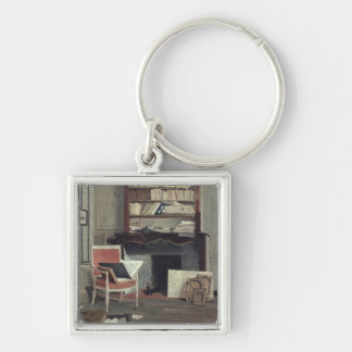 Interior of the Study of Doctor X Keychain