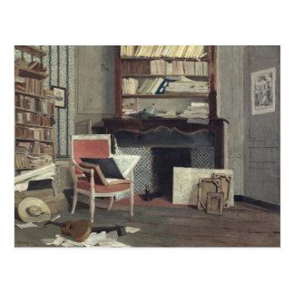 Interior of the Study of Doctor X Postcard